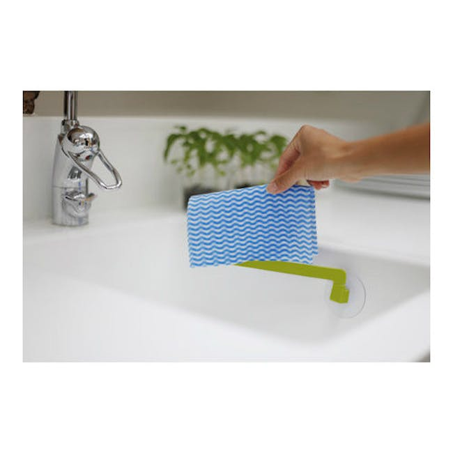 Bosign Dish Cloth Holder - Lime Green - 1