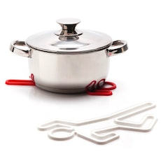 Crime Scene Hot Pot Trivet - Red