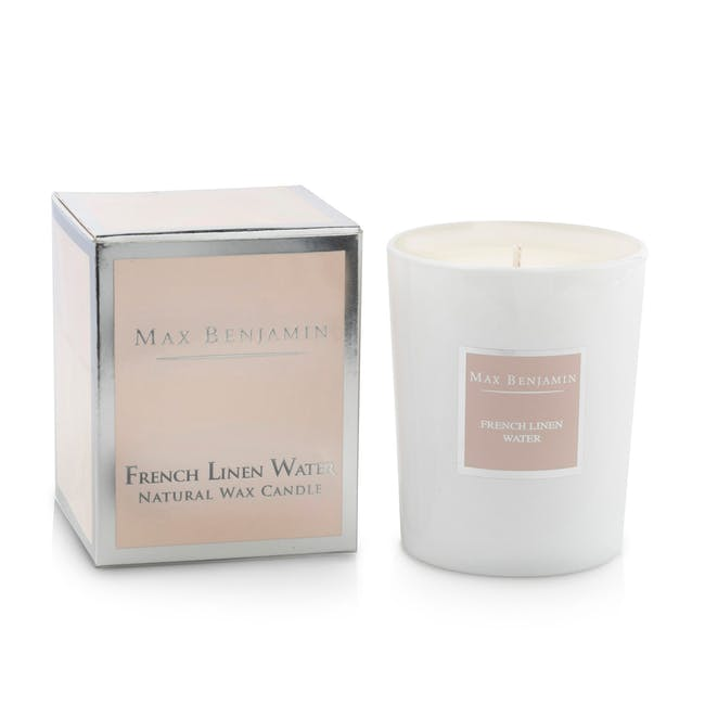 French Linen Water Candle - 1