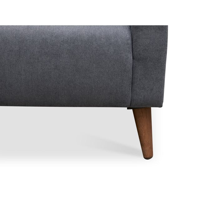 Bennett 2 Seater Sofa with Bennett Armchair - Midnight - 10