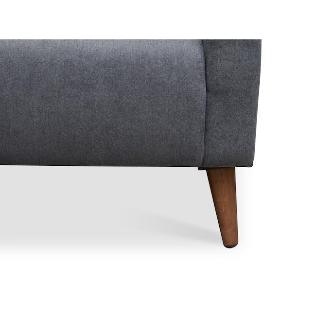 Bennett 3 Seater Sofa with Bennett Armchair - Midnight - 11