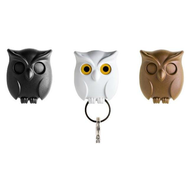 Night Owl Key Holder - Black - 1