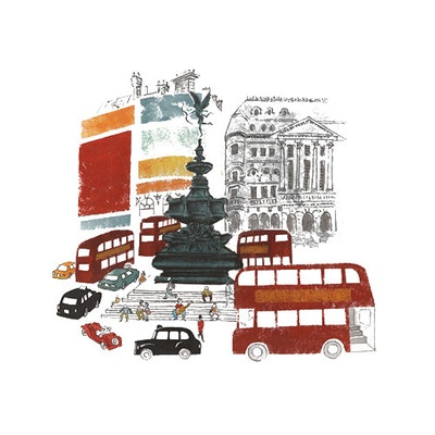 Piccadilly Wall Decal Kit