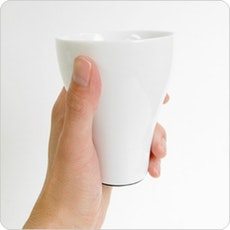 Set of 2 Thermo Cups - White
