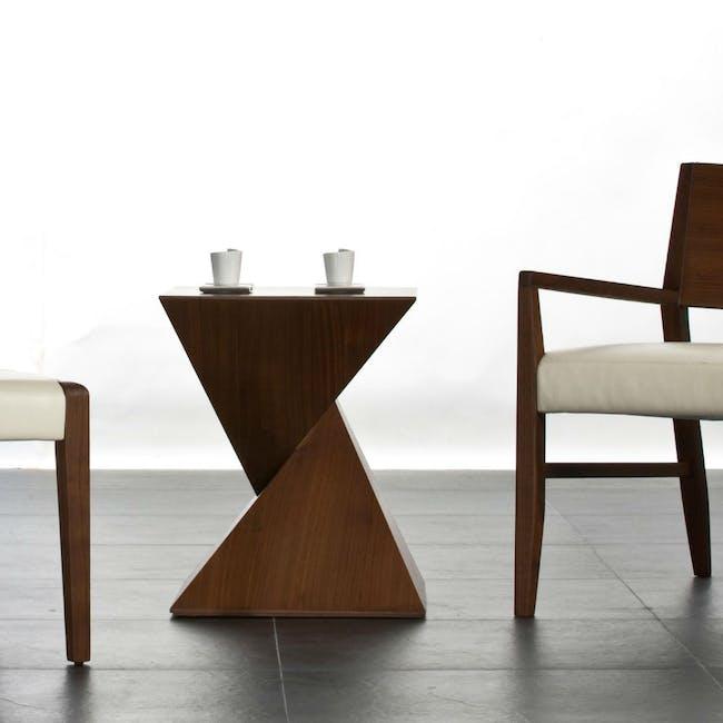 Ollie Side Table - Walnut - 1