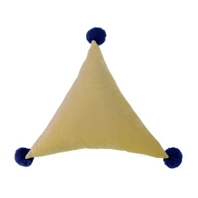 Triangle Pom Plush - Buff - Image 1