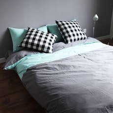 Tiffany Blue 3-pc Duvet Cover Set