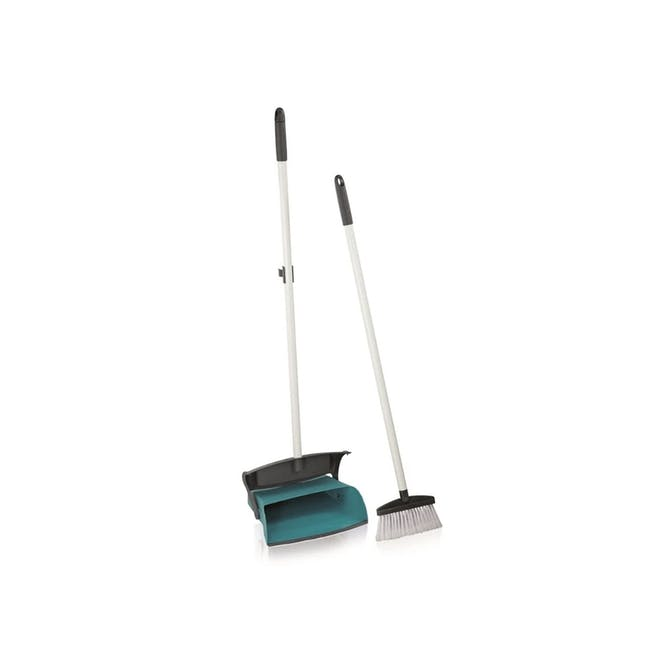 Leifheit Professional Broom with Dust Pan Set - 0