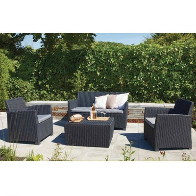 Corona Lounge Set - Graphite - Image 2