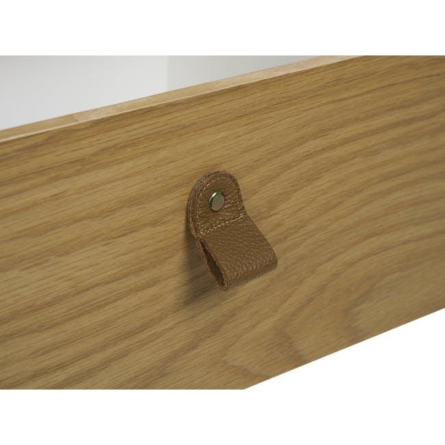 Odin Bedside Table - Oak - 6