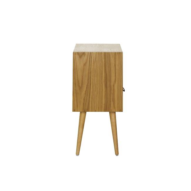 Odin Bedside Table - Oak - 3