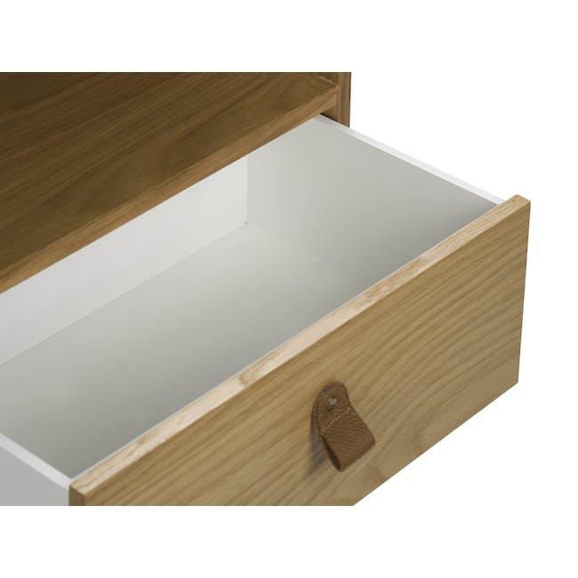 Odin Bedside Table - Oak - 5