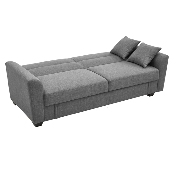 Boston 3 Seater Storage Sofa Bed