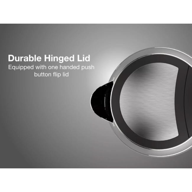 Odette Deauville 1.7L Stainless Steel  Electric Kettle  - Pastel Orange - 3