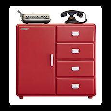 Pico Retro Pop Display Cabinet