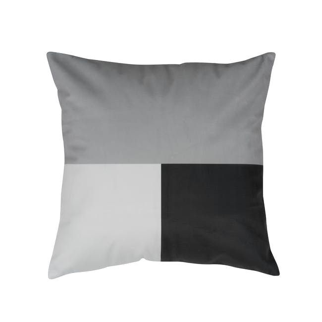 Forma Plush Cushion - Mono - 0