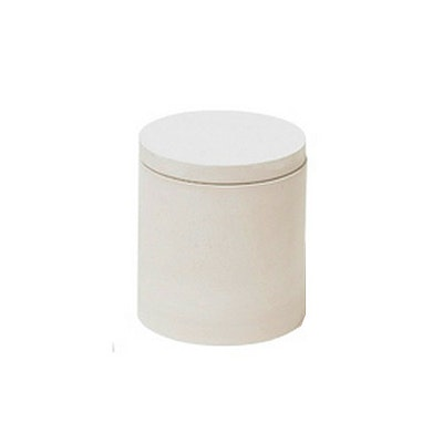 Circle Food Container - White