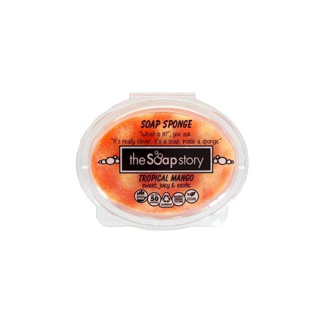 Soap Sponge 150g: Tropical Mango - 0
