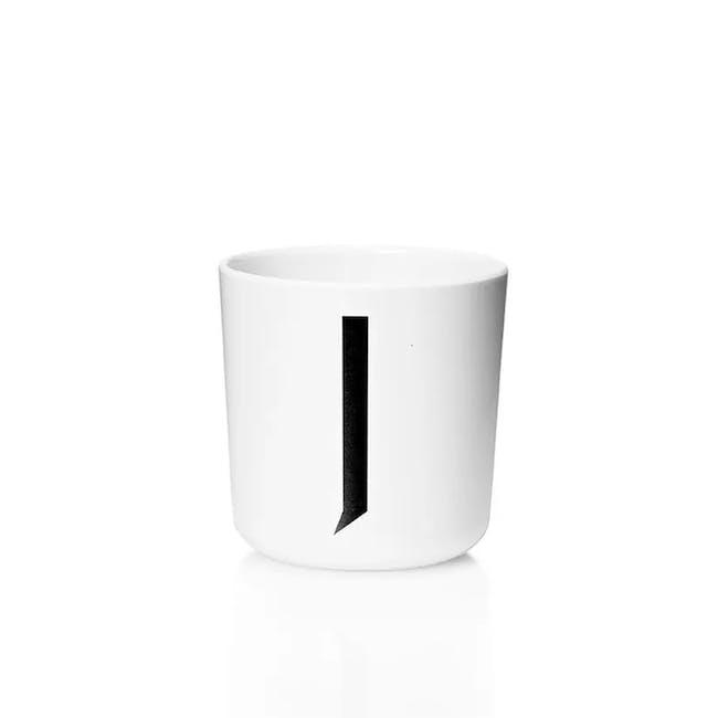 Melamine cup A-J - 12