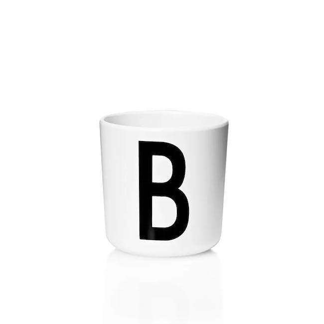 Melamine cup A-J - 4
