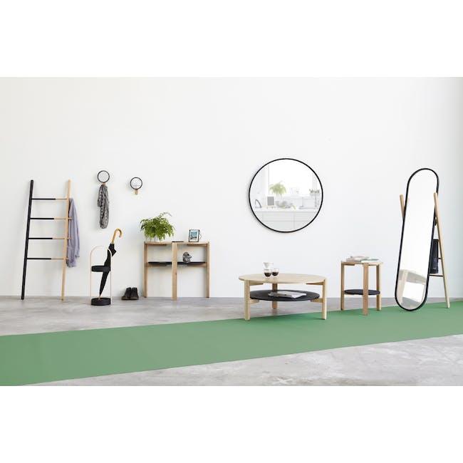 Hub Ladder - Black, Walnut - 4