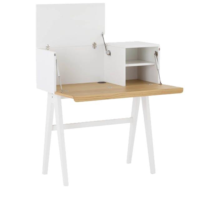 Valen Study Table - White - 1