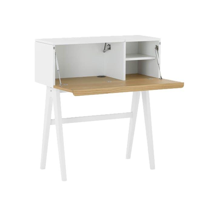 Valen Study Table - White - 2