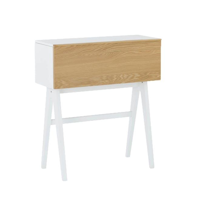 Valen Study Table - White - 5
