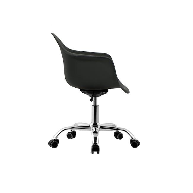 DAW Mid Back Office Chair - Black - 3