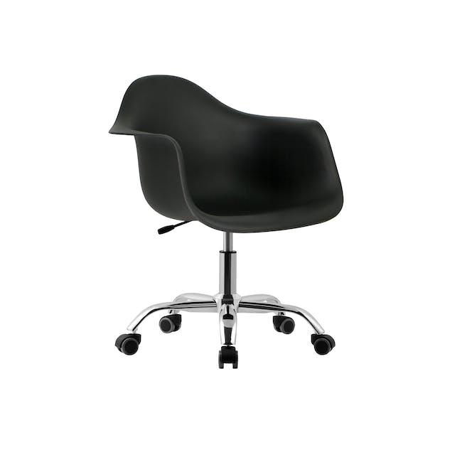 DAW Mid Back Office Chair - Black - 0
