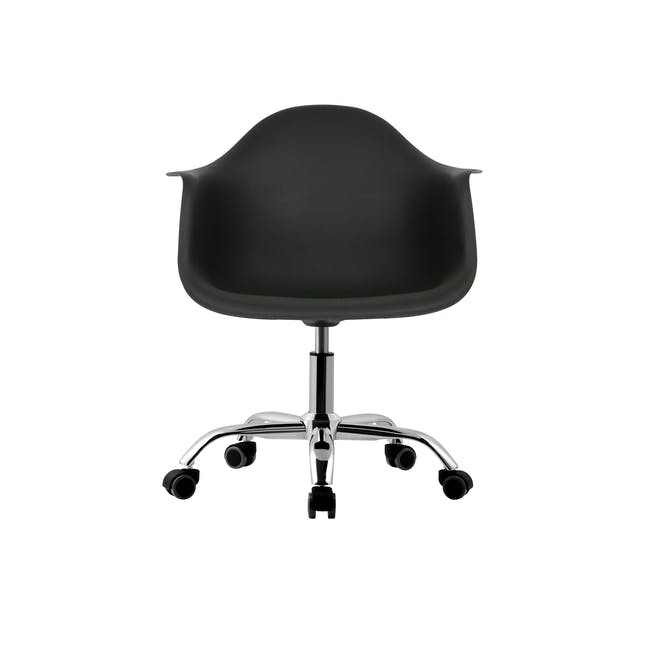 DAW Mid Back Office Chair - Black - 1
