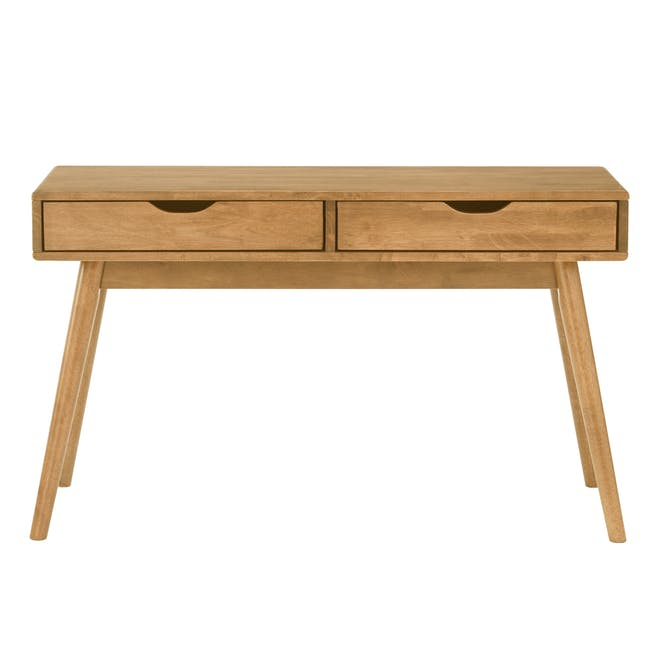 Lamar Console Table 1.2m - Oak - 1