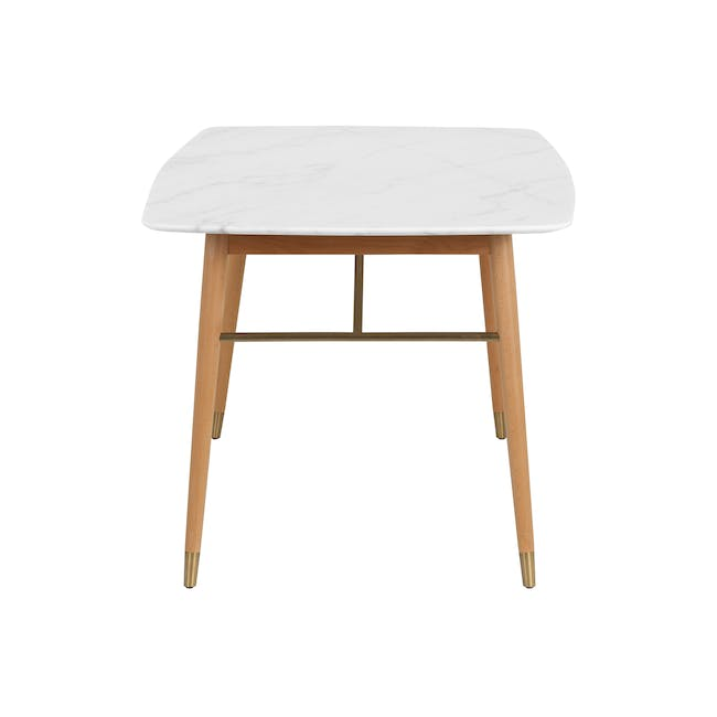 (As-is) Hagen Marble Dining Table 1.6m - 1 - 14