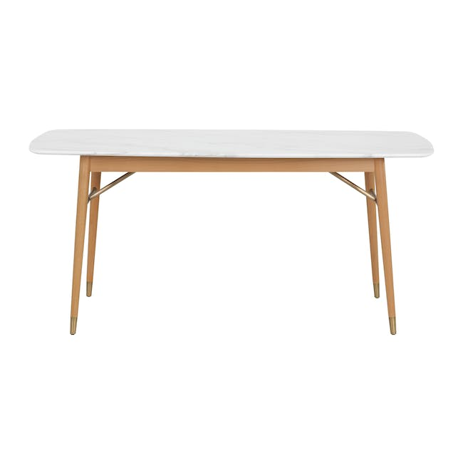 (As-is) Hagen Marble Dining Table 1.6m - 3 - 12