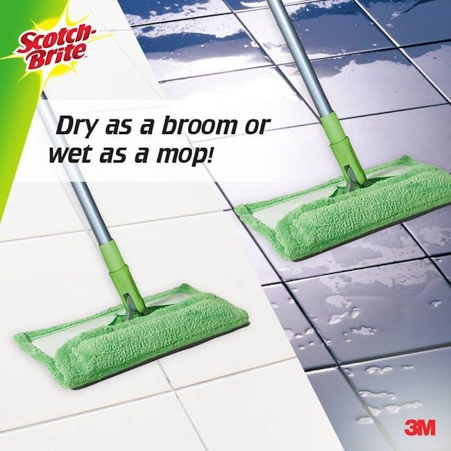 Scotch-Brite Super Microfiber Mop with Scrapper - 2