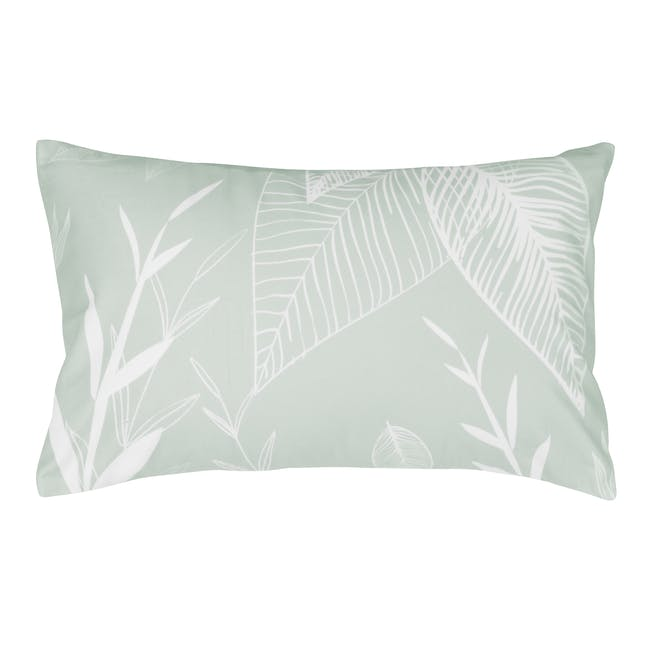 Val Plush Lumbar Cushion - Mint - 0