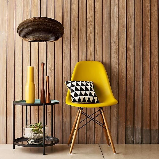 DSW Chair Replica - Natural, Yellow - 1