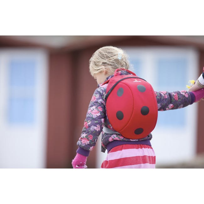 LittleLife Animal Kids' Backpack - Ladybird - 1