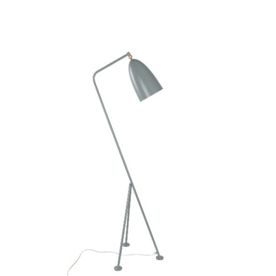 Grasshoppa Floor Lamp with E27 Bulb - Blue Grey