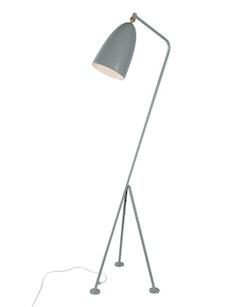 Grasshoppa Floor Lamp with E27 Bulb - Blue Grey