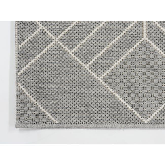 Essenza Flatwoven Rug 1.7m x 1.2m - Light Trellis - 3