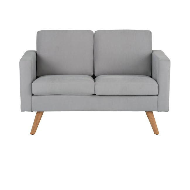 Helen 3 Seater Sofa with Helen 2 Seater Sofa - Silver Fox - 10