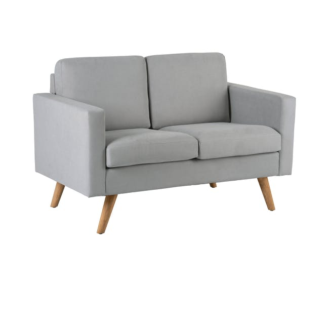 Helen 3 Seater Sofa with Helen 2 Seater Sofa - Silver Fox - 11