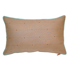 Antler Rectangle Cushion - Brown