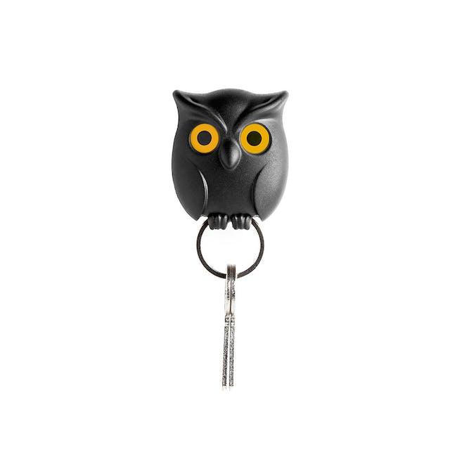 Night Owl Key Holder - Black - 0