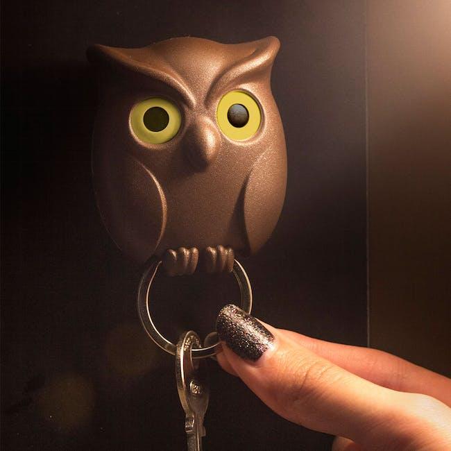 Night Owl Key Holder - Black - 3