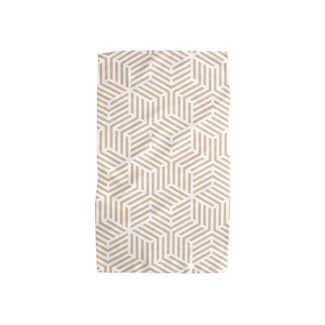 Geometry Tea Towel - Stacked Cubes - 0