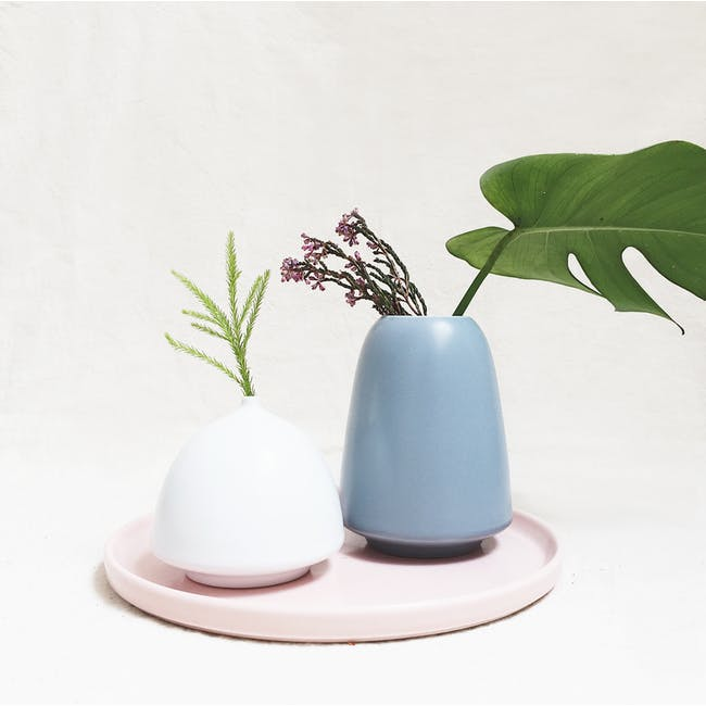 Ceramic Display Tray - Dusty Pink - 2