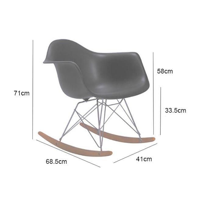 RAR Rocking Chair Replica - White - 4