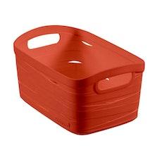 Ribbon Storage Basket - Orange